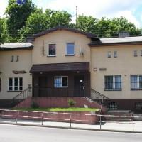 Budynek posterunku policji w Luzinie