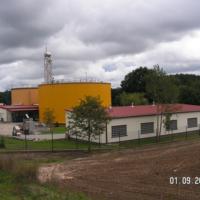 Oczyszczalnia ścieków w Luzinie