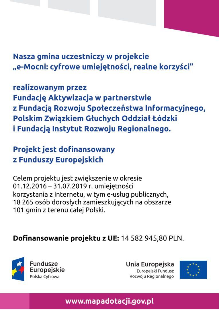 Plakat E-Mocni