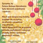 Życzenia - Gmina Luzino